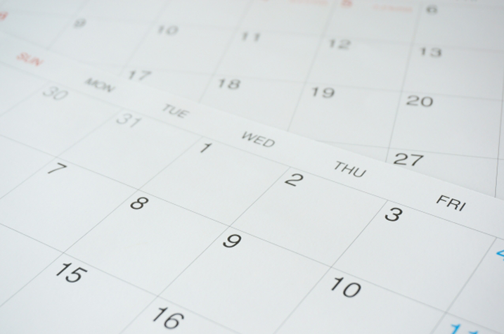 カレンダー、店舗情報で集客